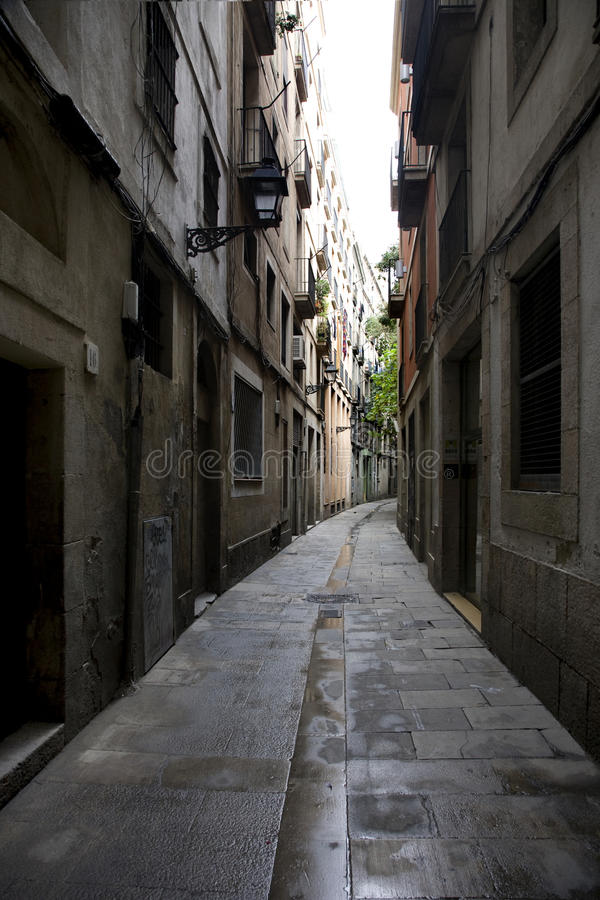 Free The Barcelona Street Stock Images - 18814414