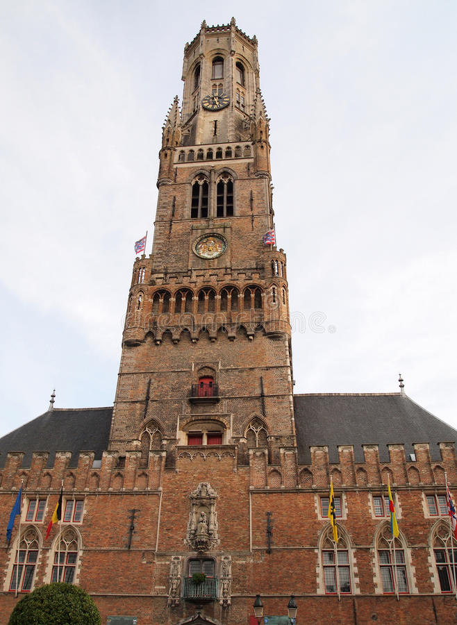 Free The Belfry Tower In Bruges Belgium Royalty Free Stock Photography - 18389567