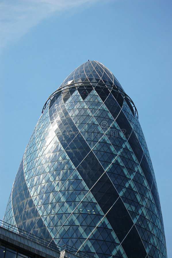 Free The Big Gherkin Stock Photography - 1114472