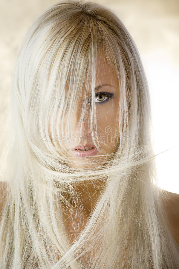 Free The Blond Girl Royalty Free Stock Photo - 9624225