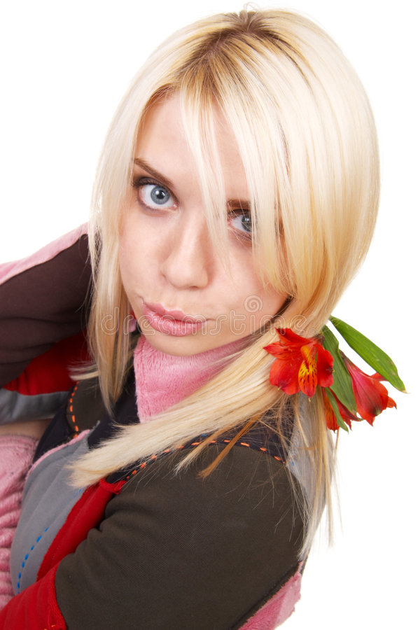 Free The Blonde Royalty Free Stock Photography - 5325197
