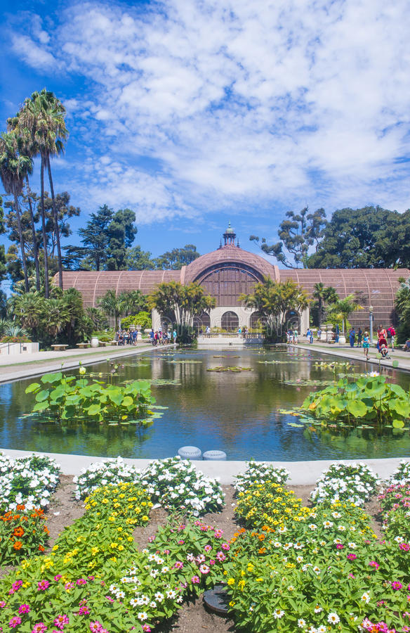 Free The Botanical Building In San Diego S Balboa Park Royalty Free Stock Photo - 34607365