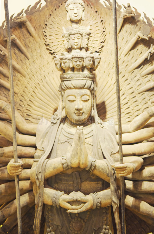 Free The Buddhist Goddess Thousand-hand Bodhisattva Royalty Free Stock Images - 6159199