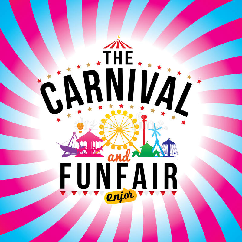 Free The Carnival Funfair Stock Image - 56633261