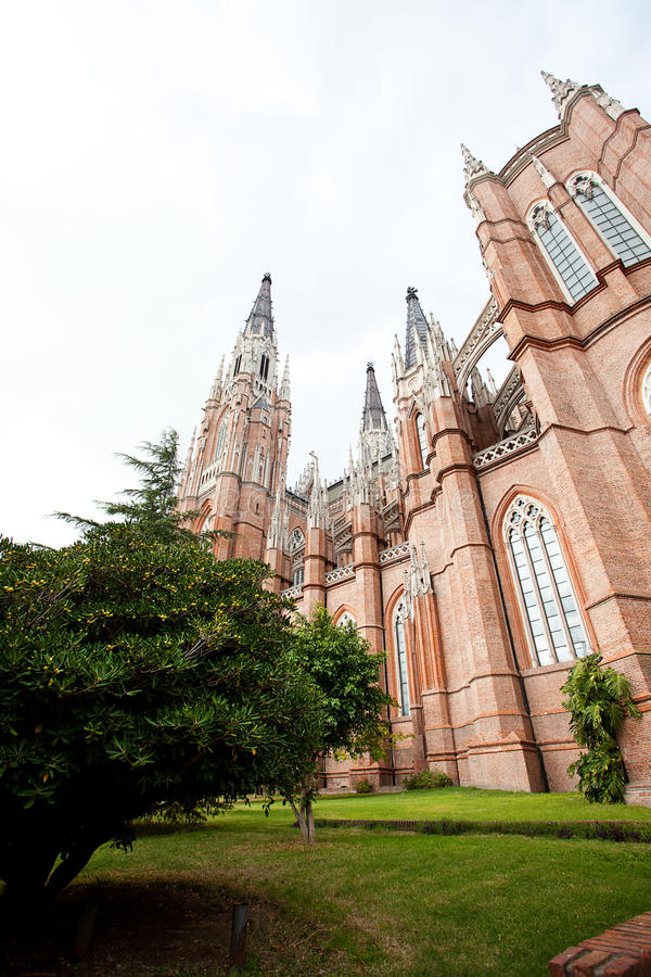 Free The Cathedral In The City Of La Plata Stock Photography - 25190252