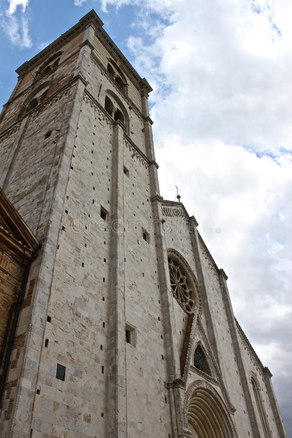 Free The Cathedral Of Fermo Royalty Free Stock Image - 19962126