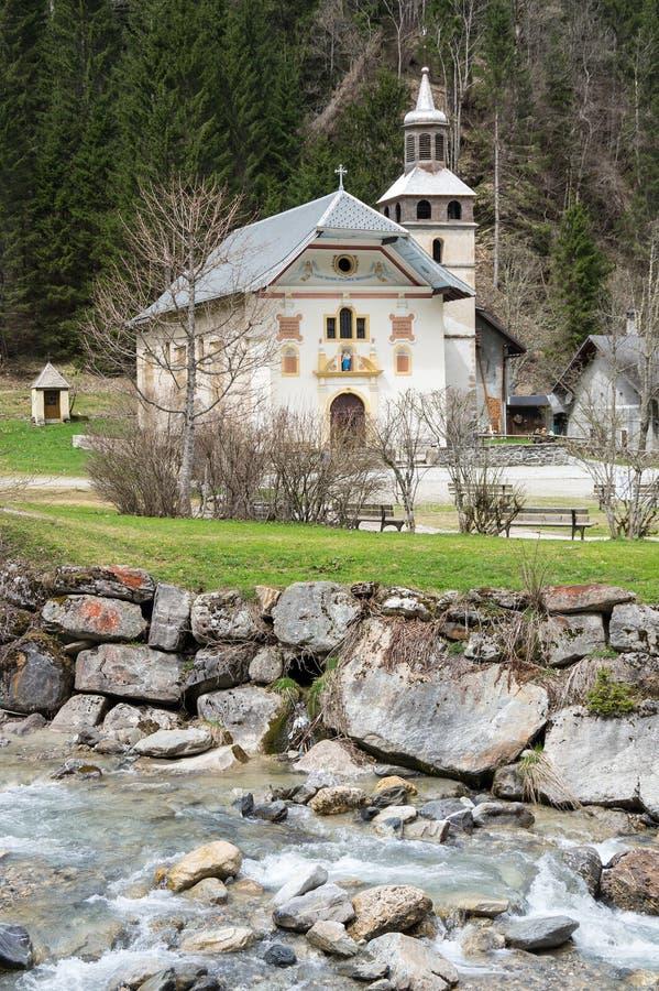 Free The Chapel Notre Dame De La Gorge Stock Photos - 98715543