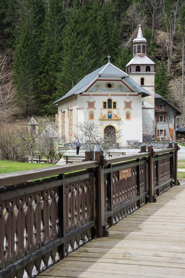 Free The Chapel Notre Dame De La Gorge Stock Photos - 98715623