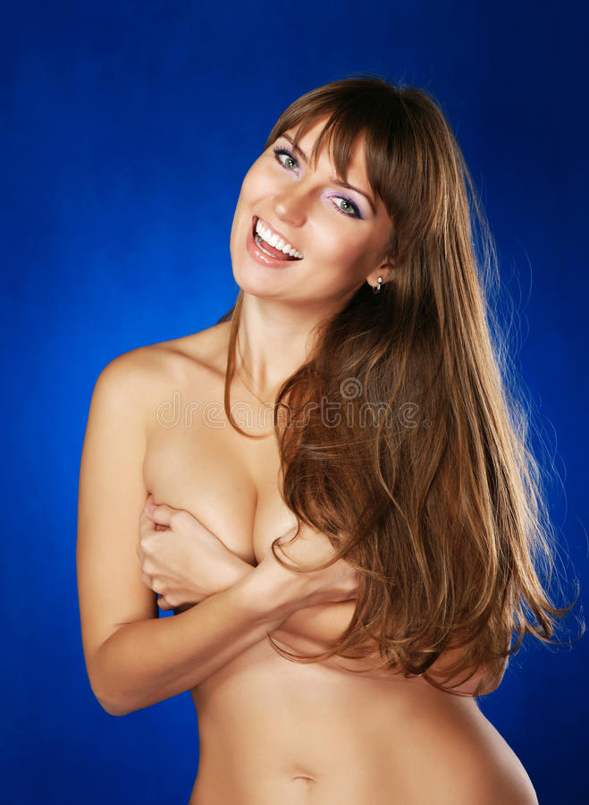 Free The Cheerful Naked Girl Royalty Free Stock Image - 20865586