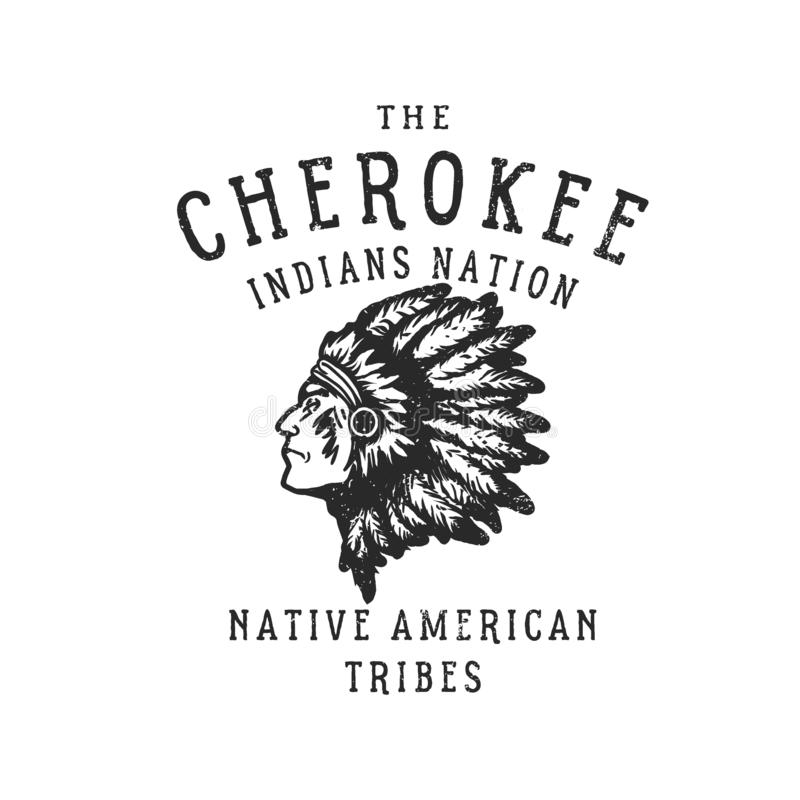 Free The Cherokee Indians Nation Royalty Free Stock Images - 126456469