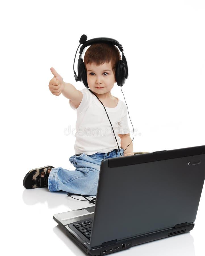 Free The Child In Headphones Stock Photos - 10719593