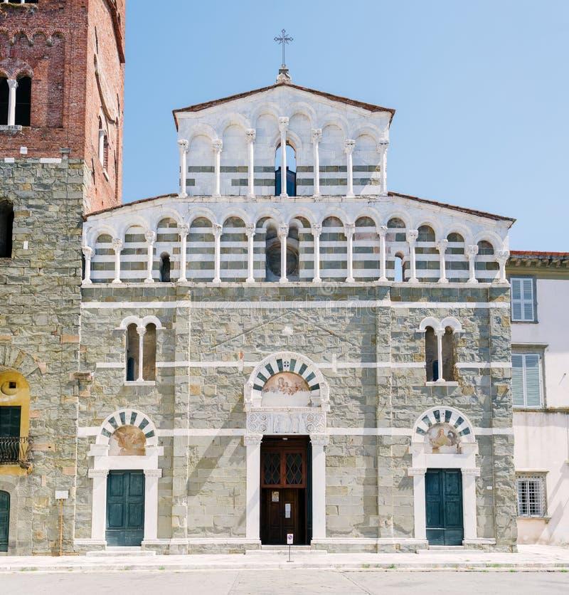Free The Church Of San Pietro Somaldi, Lucca Royalty Free Stock Image - 99434156