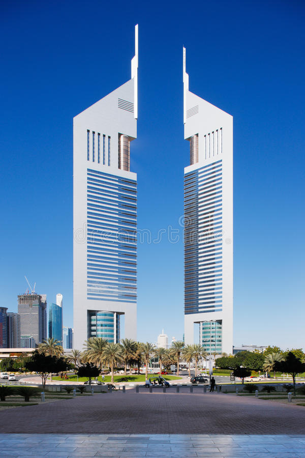Free The Cityscape Of Dubai Is Graced With Many Beautif Royalty Free Stock Photography - 27670227