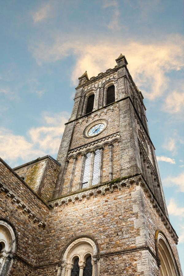 Free The Clock Tower Of St Pauls Church In Honiton, Devon, UK Royalty Free Stock Photography - 164163527