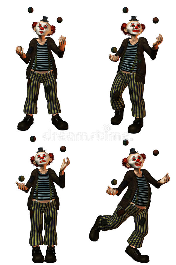 Free The Clown 2 Stock Images - 18646214
