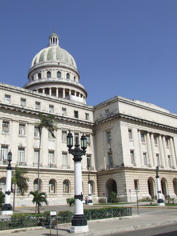 Free The Cuba National Capitol, In Havana Royalty Free Stock Image - 5019816