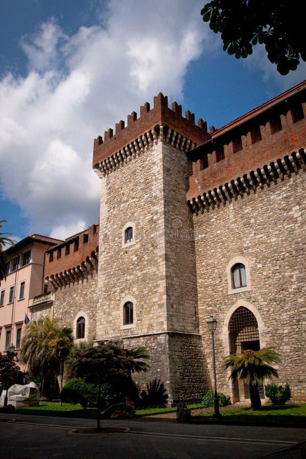 Free The Cybo Malaspina Palace In Carrara Stock Image - 23215301