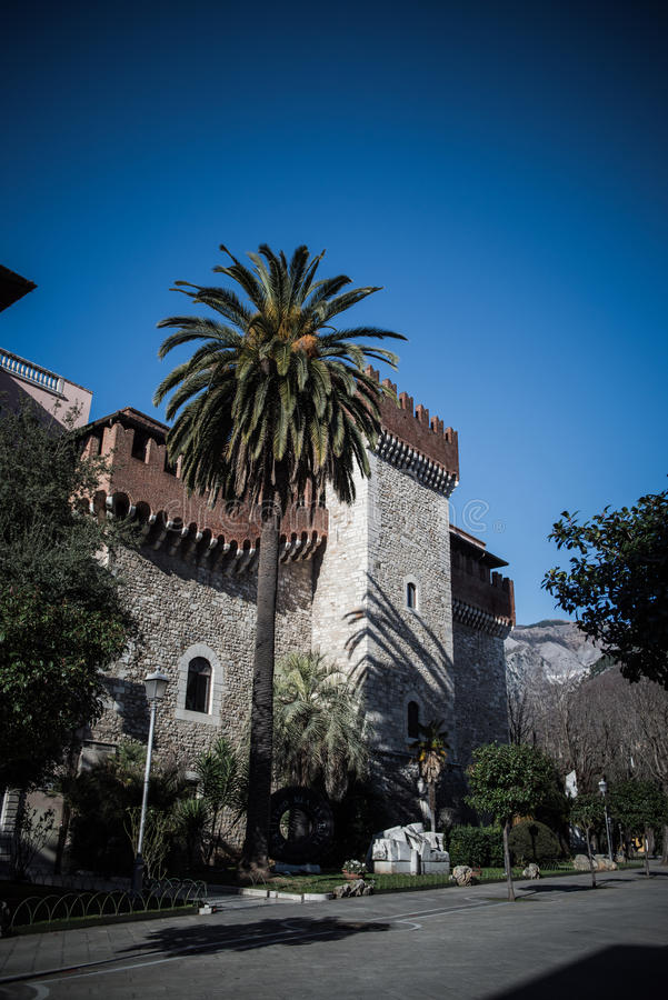 Free The Cybo Malaspina Palace In Carrara Royalty Free Stock Images - 34822739