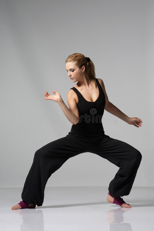 Free The Dancer Royalty Free Stock Photos - 5337768