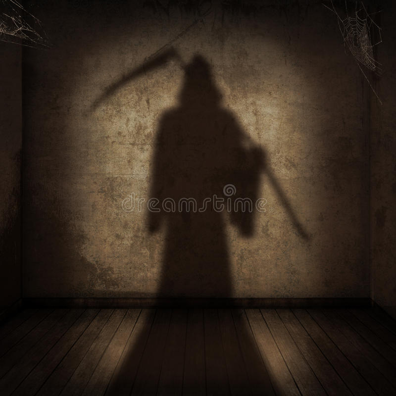 Free The Death Is Coming Royalty Free Stock Photo - 21765795