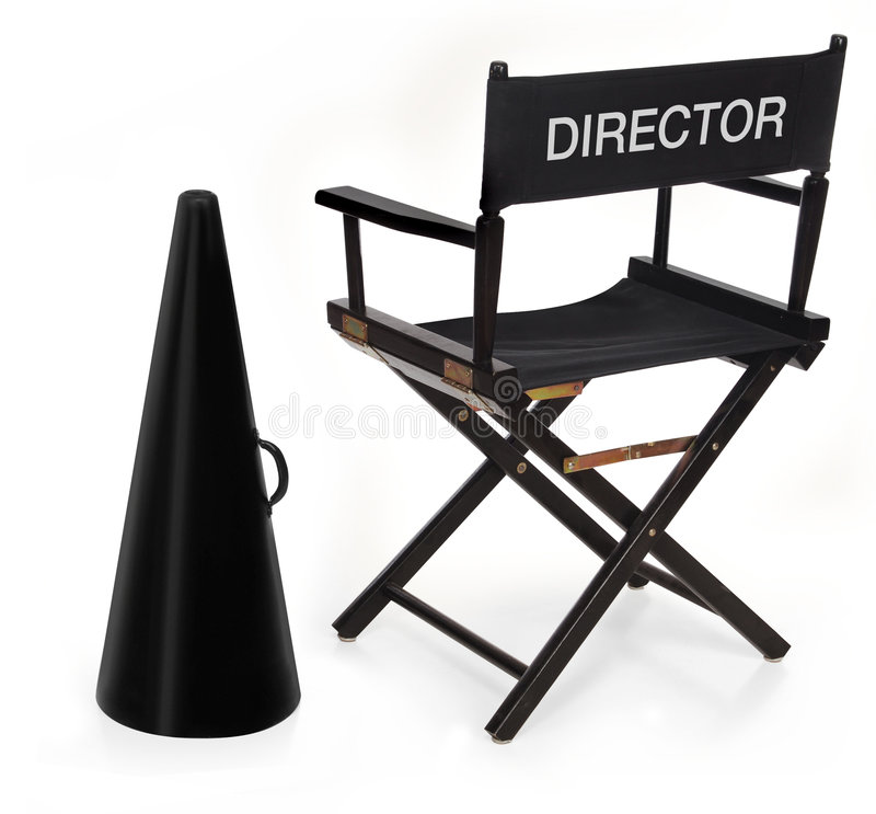 Free The Director Royalty Free Stock Image - 1282336