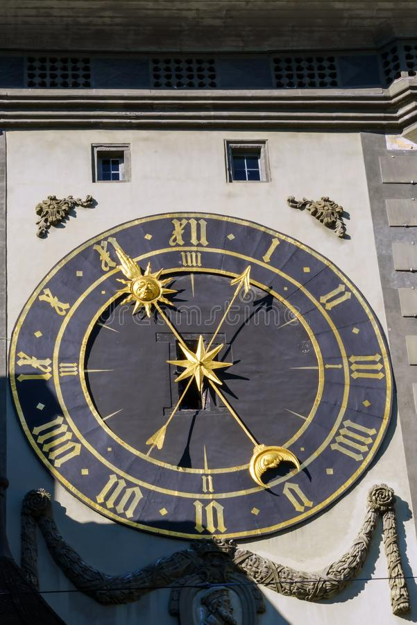 Free The Eastern Face Of The Zytglogge, Medieval Clock Tower, Bern, S Royalty Free Stock Photography - 115998847