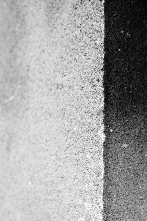 Free The Edge Of Wall - BW - DOF Royalty Free Stock Images - 3232649