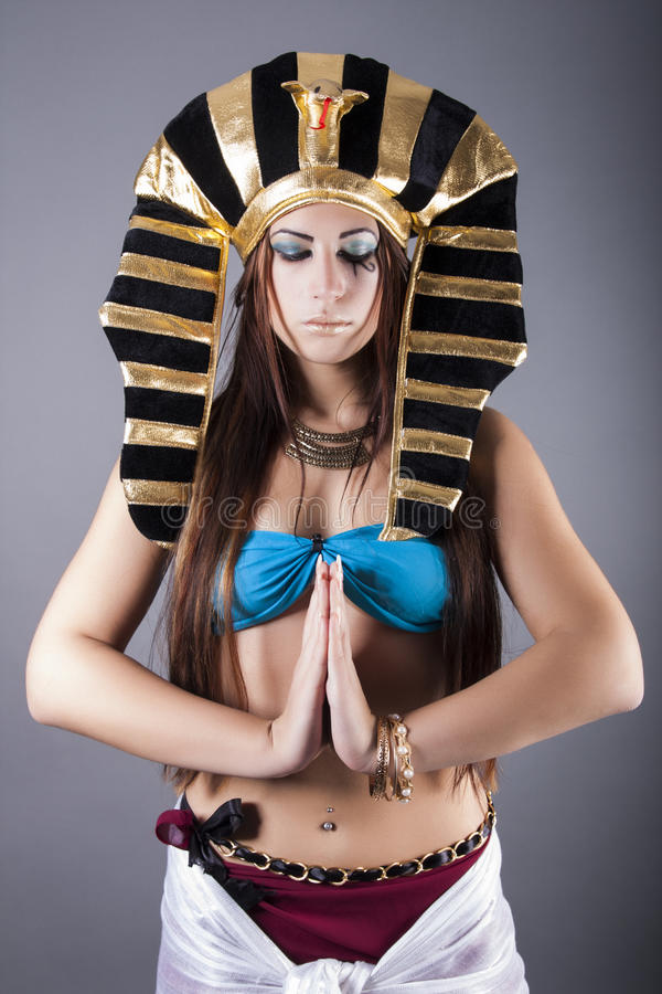Free The Egyptian Queen Cleopatra Royalty Free Stock Photos - 34382678