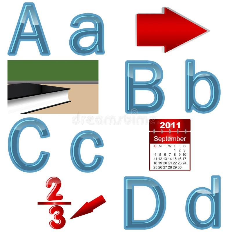 Free The English Alphabet. Royalty Free Stock Image - 20633186