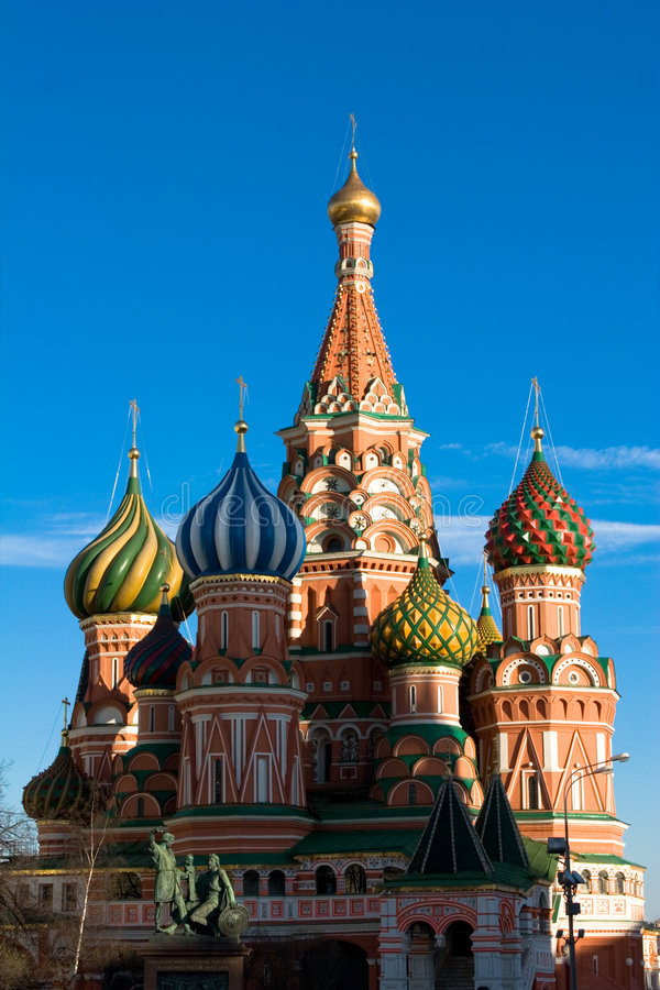 Free The Famous Head Of St. Basil S Royalty Free Stock Image - 2287756