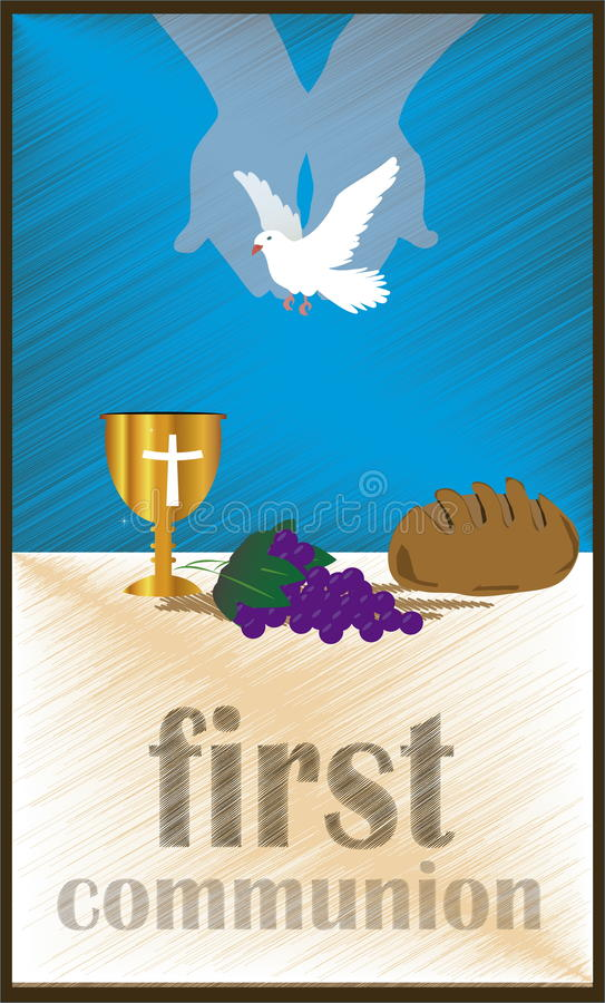 Free The First Communion, Or First Holy Communion Stock Images - 51598344
