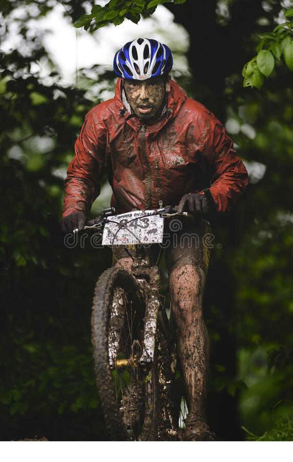 Free The First Escape, Mountain Bike Contest Held In Romania 2011 Stock Photography - 175121162