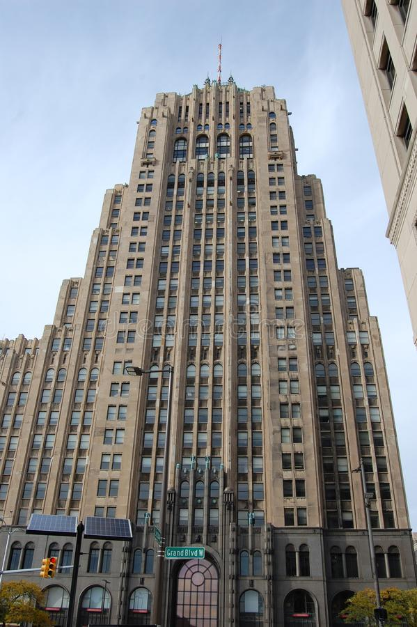 Free The Fisher Building Detroit Michigan USA Stock Image - 112276681