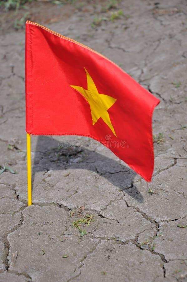Free The Flag Of Vietnam. Stock Image - 30296171