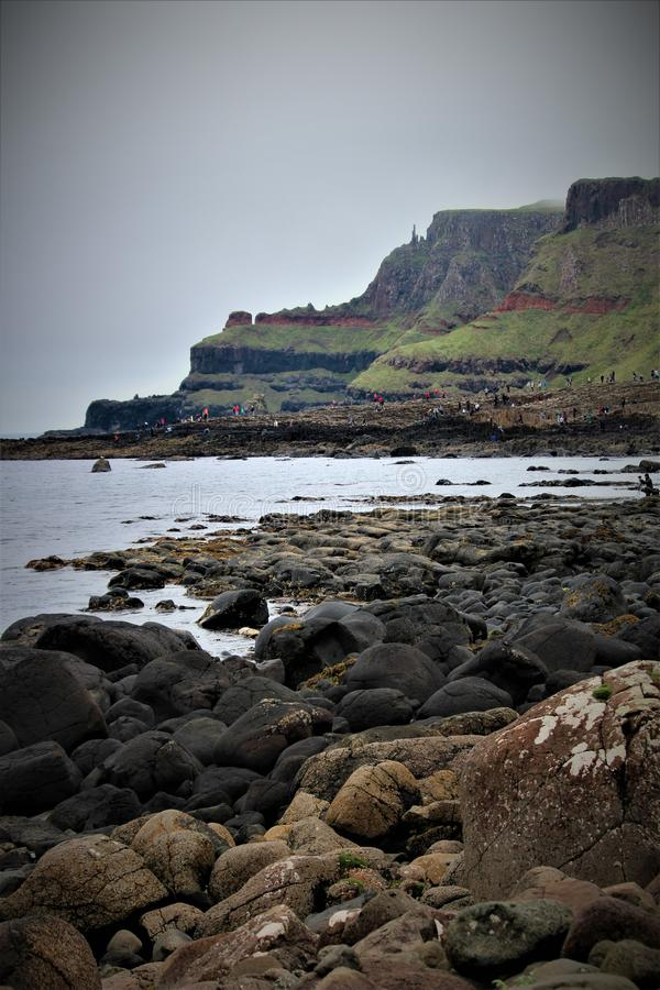 Free The Giant`s Causeway In Northern Ireland Stock Photos - 124133213