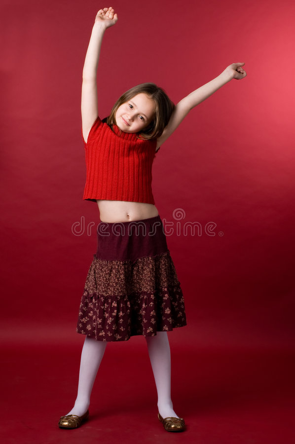 Free The Girl In Red Royalty Free Stock Photos - 2798308