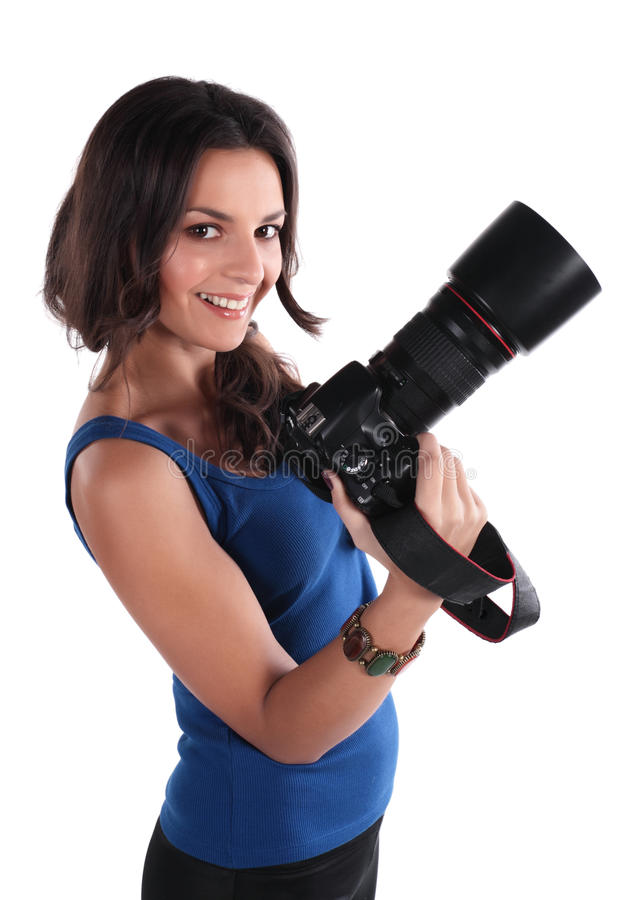 Free The Girl The Photographer Stock Photo - 12527210