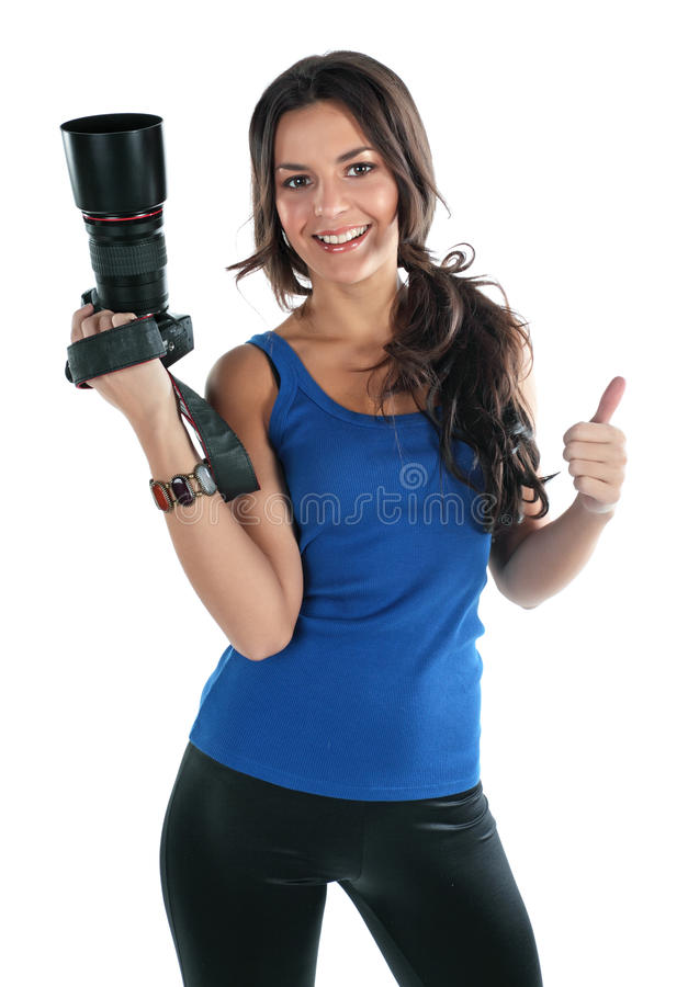 Free The Girl The Photographer Royalty Free Stock Photography - 12540987