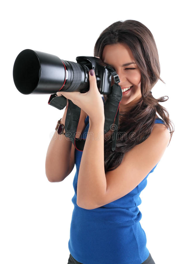 Free The Girl The Photographer Royalty Free Stock Photography - 12554767