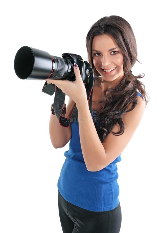 Free The Girl The Photographer Stock Photos - 12567293