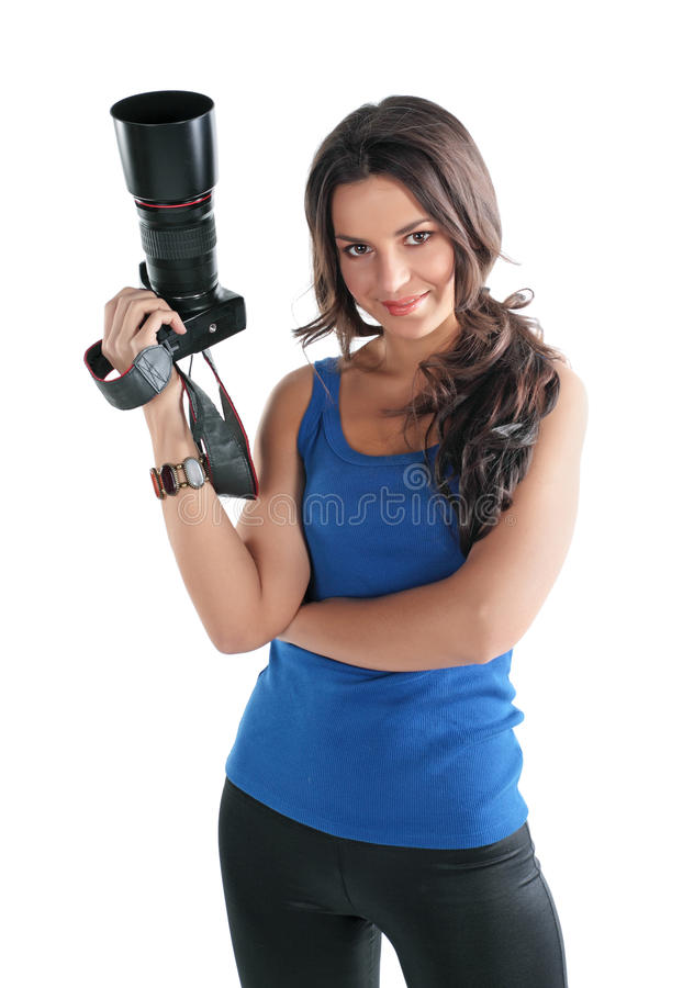 Free The Girl The Photographer Royalty Free Stock Photo - 12567305