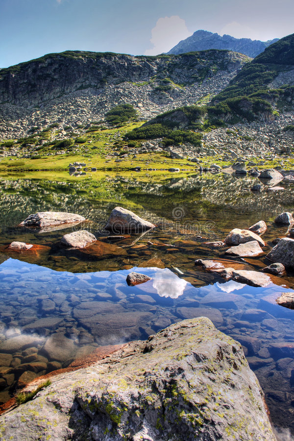Free The Glacial Lake In Rila Royalty Free Stock Images - 8755419