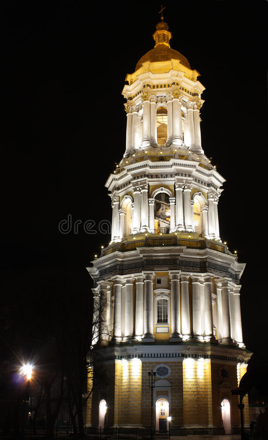 Free The Great Lavra Belltower Stock Photography - 7849182