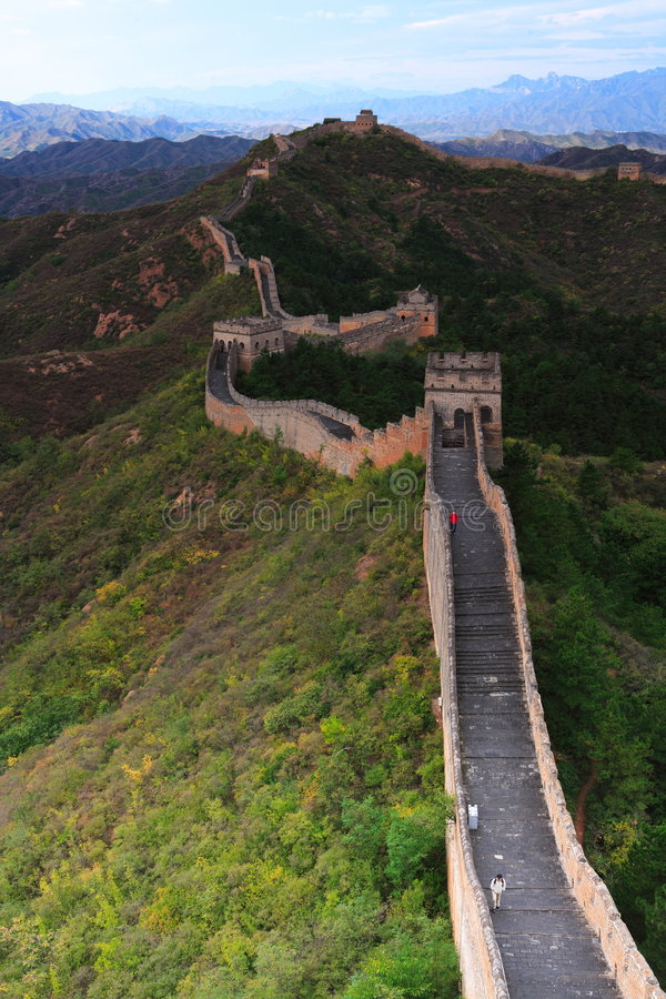 Free The Great Wall Royalty Free Stock Photography - 3353257