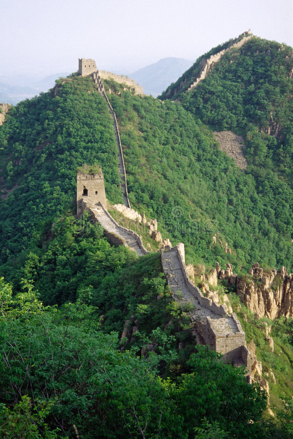 Free The Great Wall Royalty Free Stock Photography - 4769547