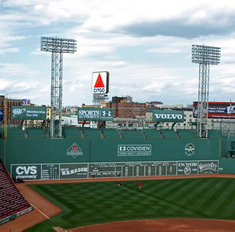 Free The Green Monster Royalty Free Stock Image - 14944946