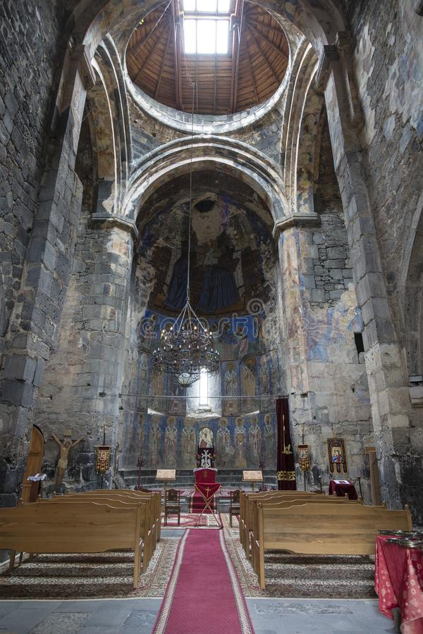Free The Interior Of The Church Of The Holy Virgin In The Monastery Of Akhtala, Lori Region Royalty Free Stock Images - 147270309