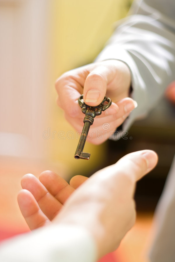 Free The Key To Succes Royalty Free Stock Photos - 3933558