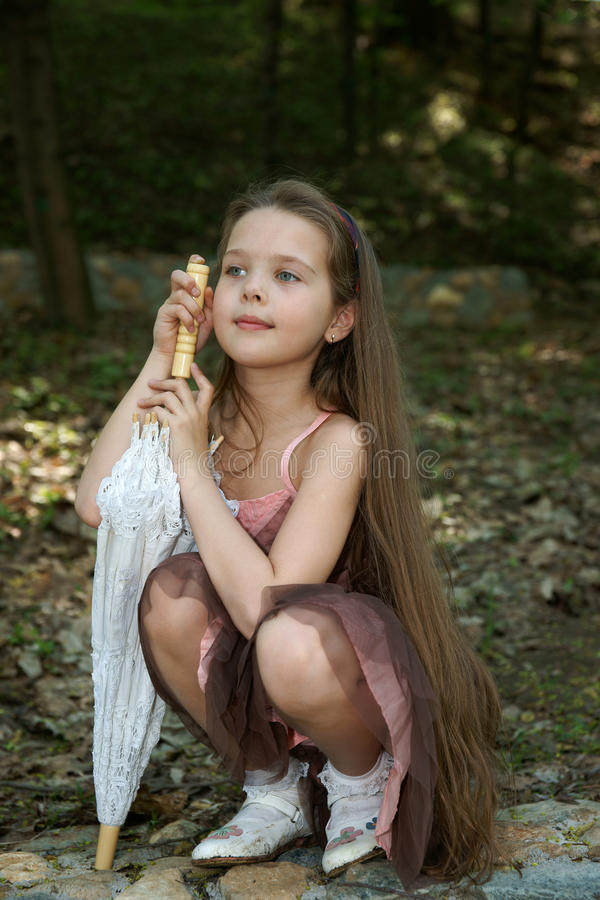 Free The Little Girl Stock Images - 20906984