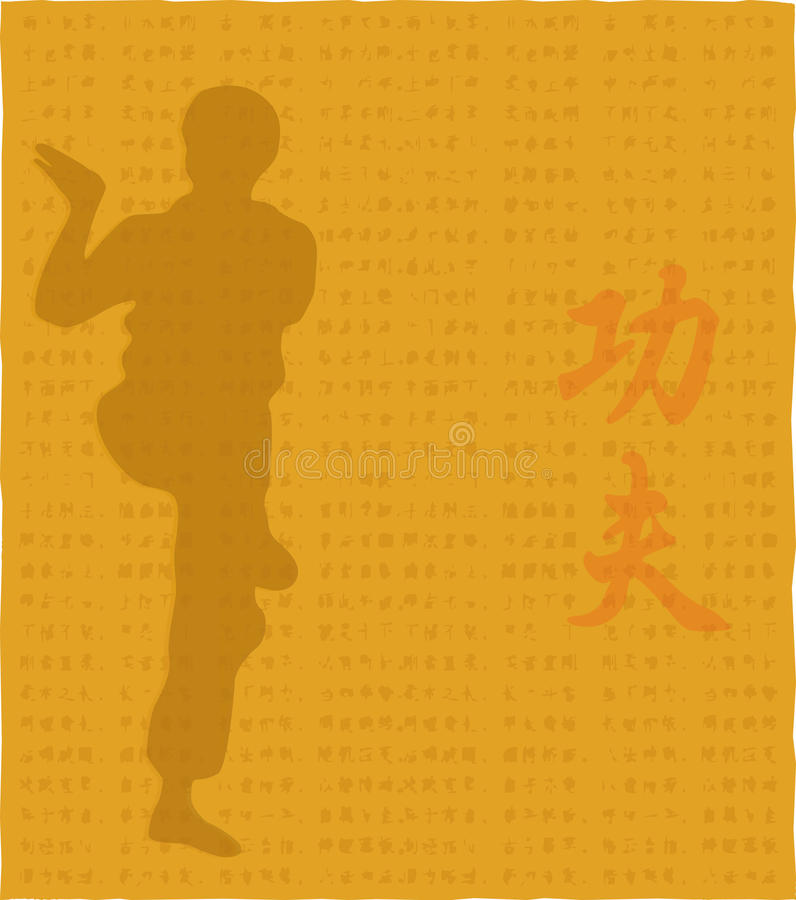 Free The Man Shows Kung Fu. Royalty Free Stock Image - 51441156